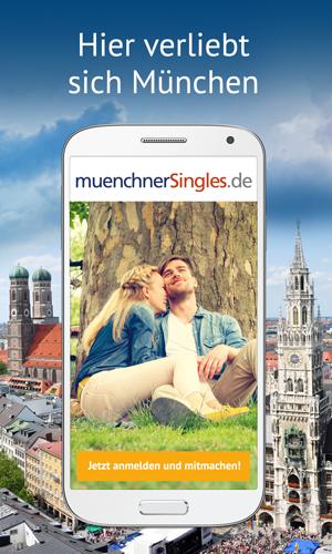 Die Anroid App der Münchner Singles